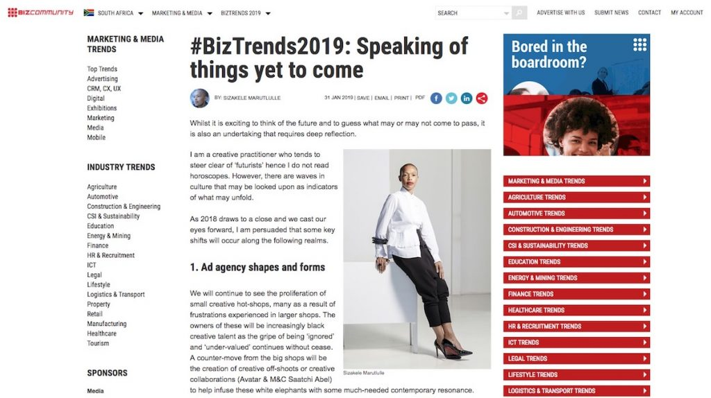 BizTrends2019-Speaking-of-things-yet-to-come-SizakeleMarutlulle