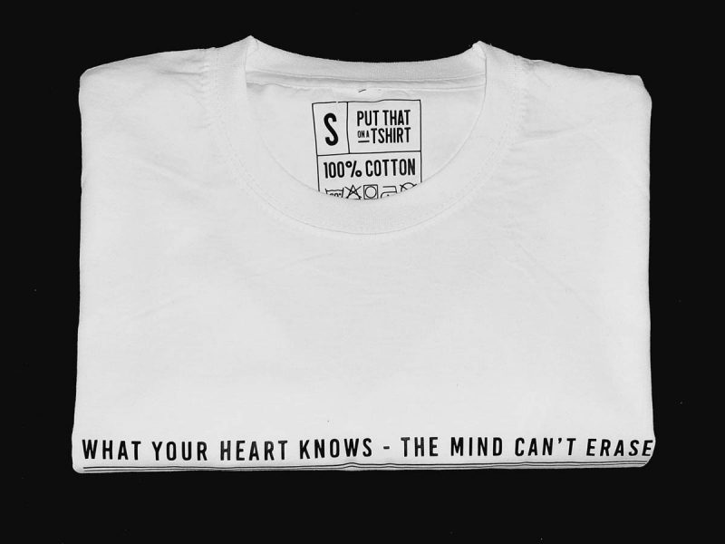 What your heart knows-t-shirt-Sizakele-Marutlulle-Apparel